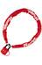 Masterlock 8390 - Candado de cable - 6 mm x 900 mm rojo